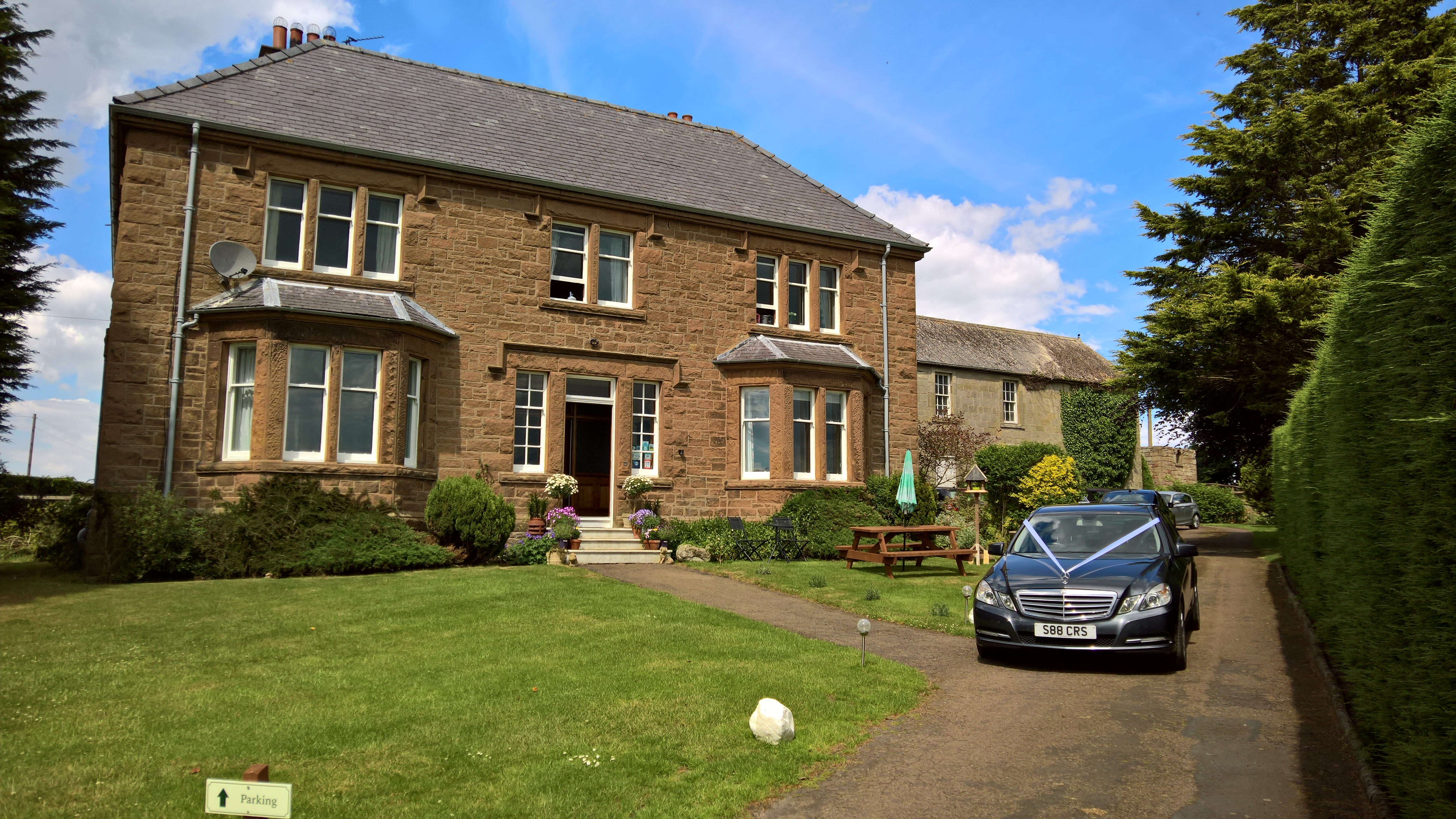 Hay Farm Bed and Breakfast in North Northumberland